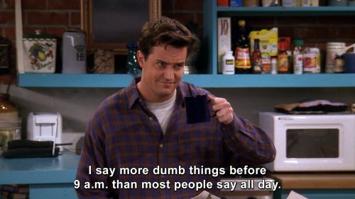 Friends: Chandler Bing's Best One-Liners | THE ROCKLE
